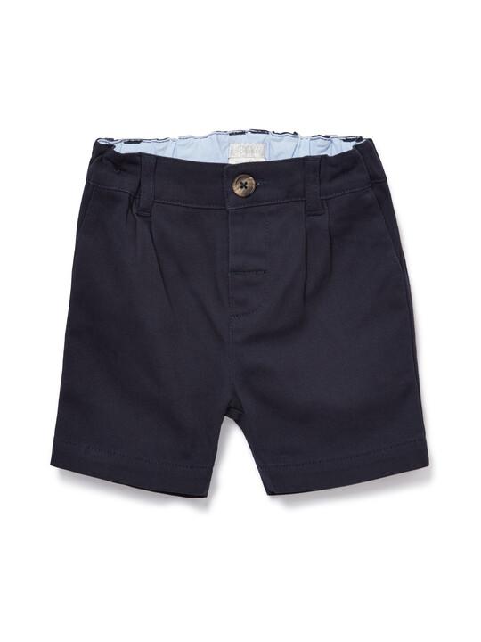 Navy Chino Shorts image number 1
