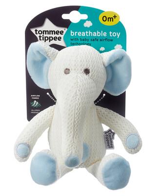 دمية مسامية بتصميم الفيل إيدي من تومي تيببي، أزرق