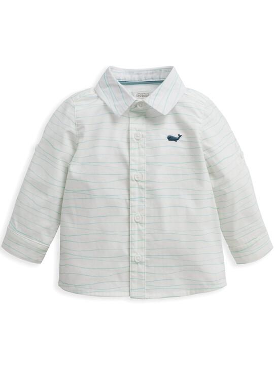 قميص بنقشة أمواج image number 2