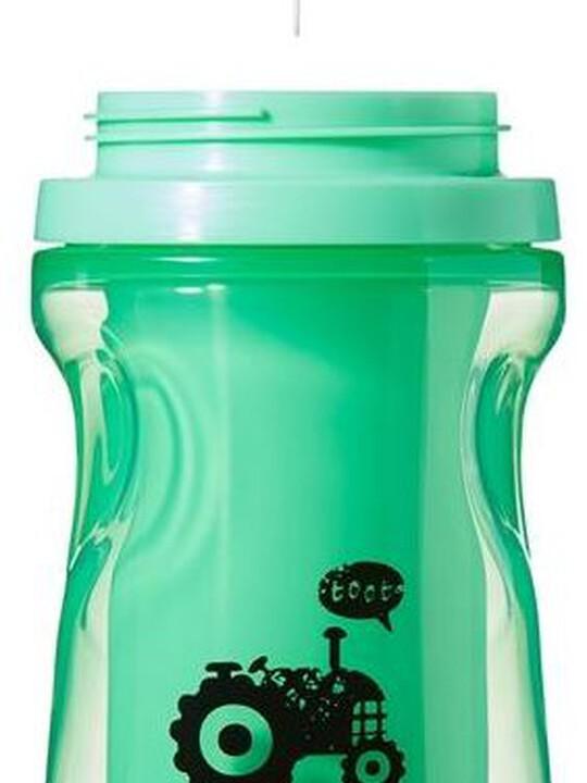 كوب إكسبلورا 260 مل عازل للحرارة ومزود بماصة من تومي تيبي - باللون الأخضر image number 2