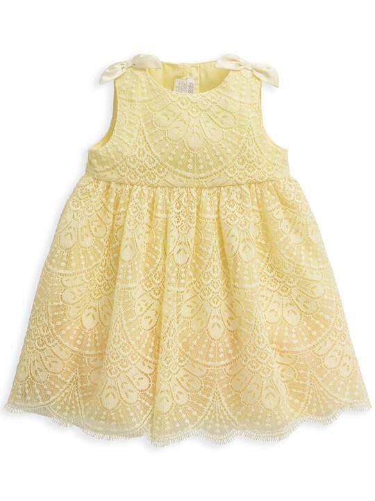 فستان دانتيل أصفر image number 1