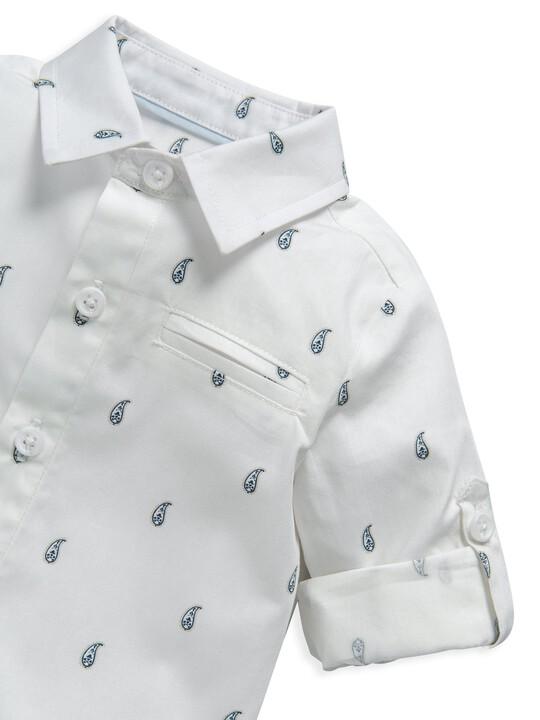 قميص بنقشة بيزلي image number 3