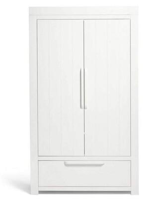 خزانة ملابس فرانكلين - أبيض
