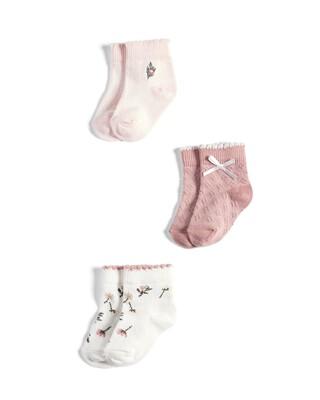 3 Pack of Floral Socks