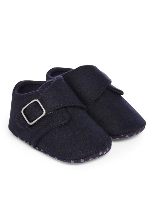 حذاء كحلي image number 1