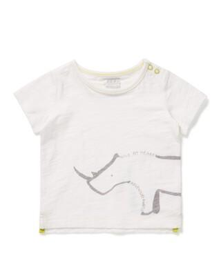 تي شيرت بطبعة وحيد القرن