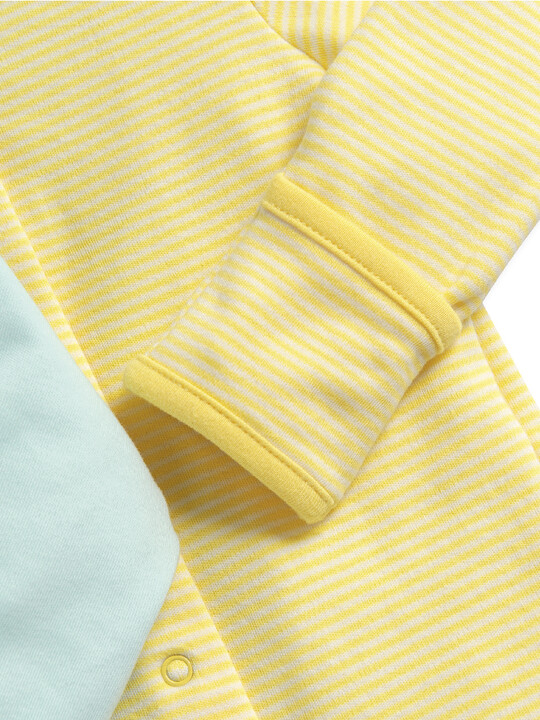 Lemon Sleepsuits 3 Pack image number 6