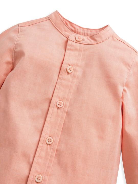 قميص بلون وردي image number 5