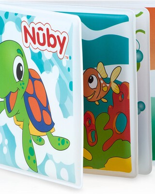كتاب أطفال للاستحمام من نوبي