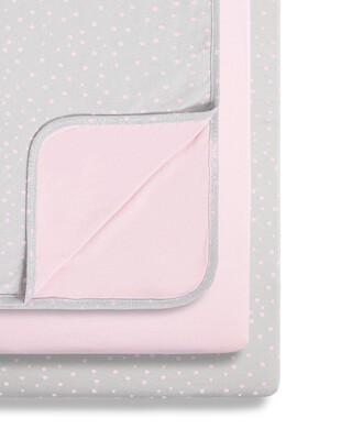 SnuzPod - 3pc Crib Bedding Set - Rose Spots (N)