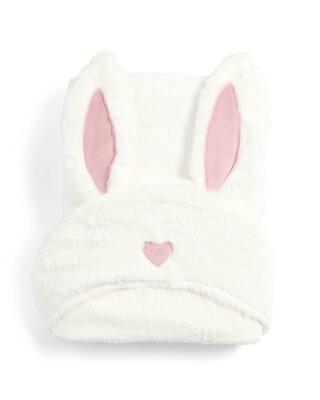 منشفة بغطاء للرأس بتصميم أرنب - ميلي وبوريس