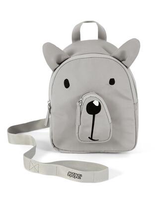 حقيبة ظهر بحزام لمراقبة الطفل - بتصميم دب
