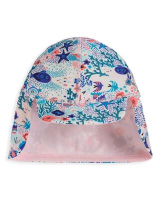 قبعة بنقشة بحرية