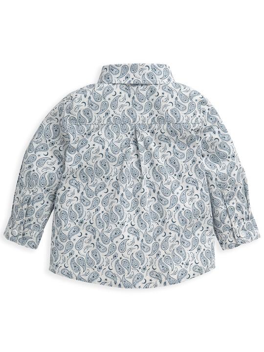 قميص بنقشة بيزلي متناثرة image number 5