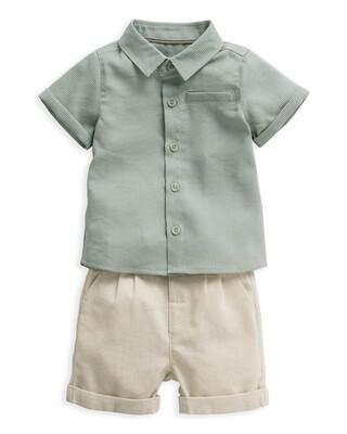 طقم قميص وشورت - قطعتان