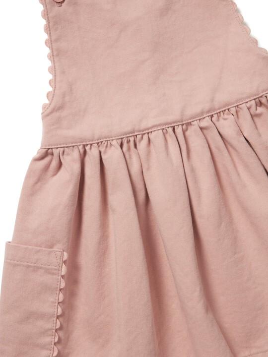 فستان تويل بتصميم مريلة image number 3