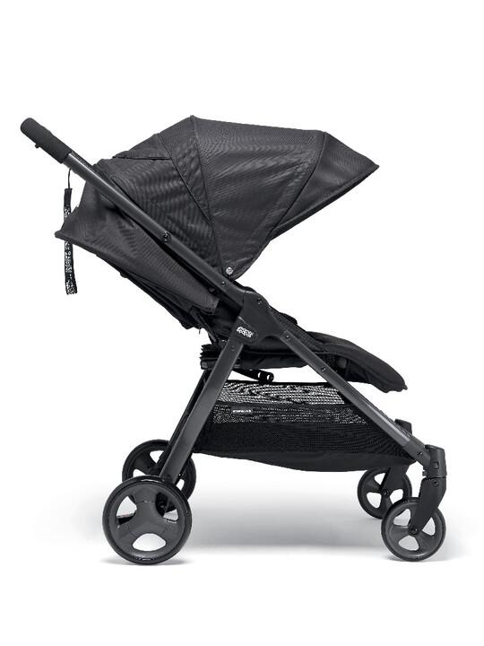 عربة أطفال أرماديللو مزدوجة قابلة للطيّ - لون أسود image number 5