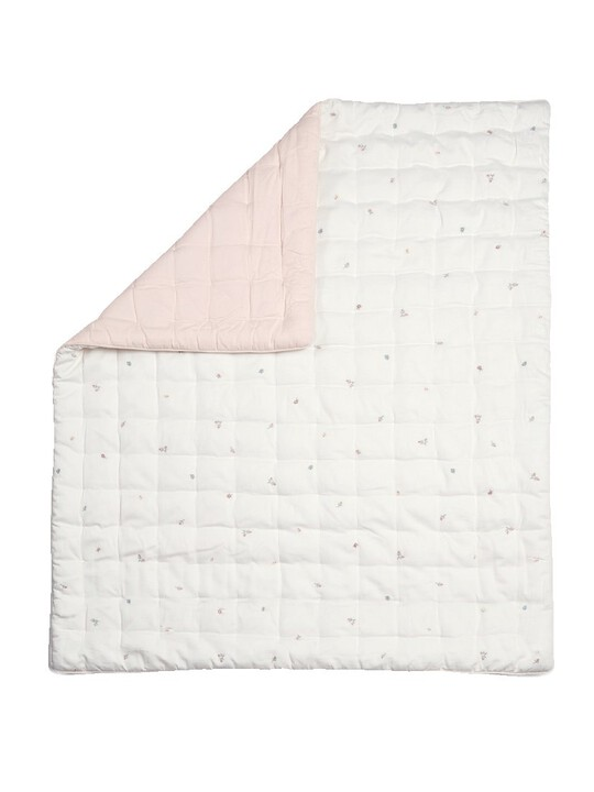 Welcome to the World Floral Quilt - Pink image number 2
