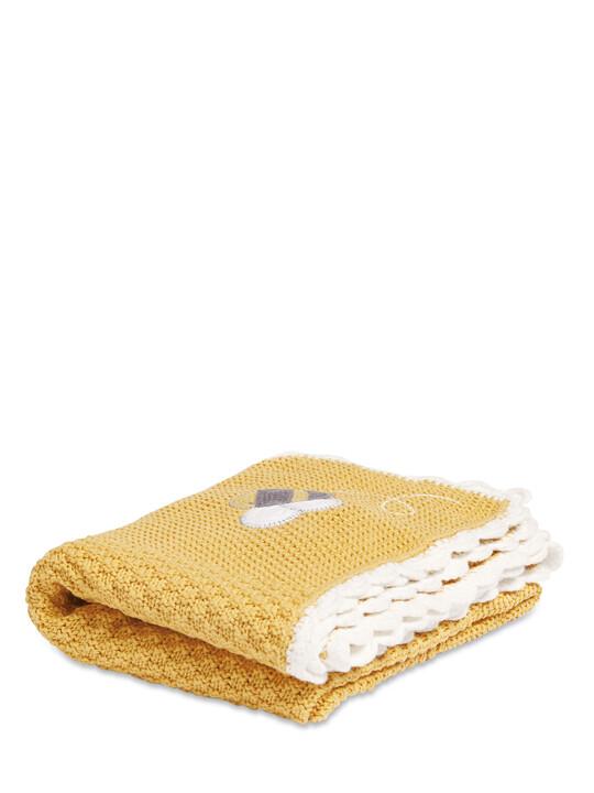بطانية منسوجة (70 × 90 سم) - بي هابي image number 1