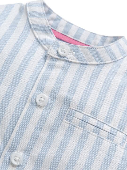 قميص منسوج مخطط image number 3