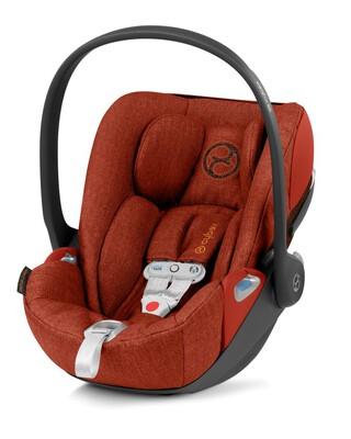 مقعد سيارة سايبكس كلاود زي آي-سايز للرضع، بتكنولوجيا سنسور سيف - أحمر داكن