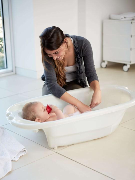 حوض استحمام Acqua Bambino بمستويين - أبيض لؤلؤ image number 2