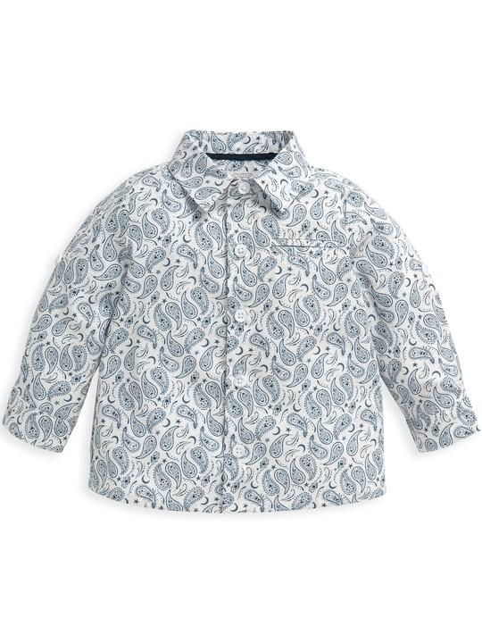 قميص بنقشة بيزلي متناثرة image number 4