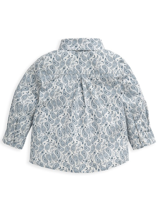 قميص بنقشة بيزلي متناثرة image number 2