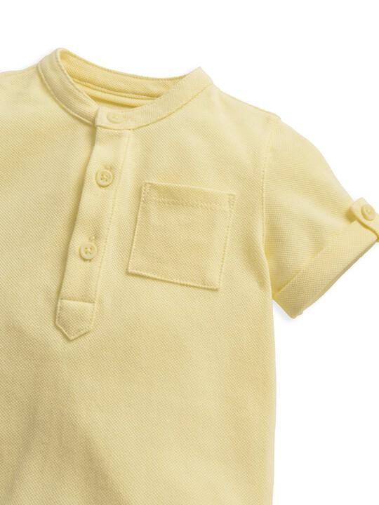 قميص أصفر image number 3