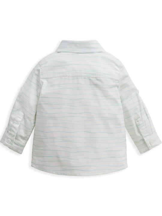 قميص بنقشة أمواج image number 3