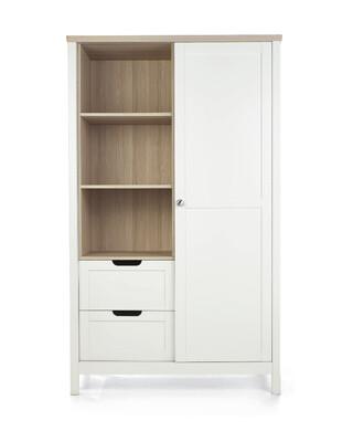 خزانة هارويل - أبيض وبني