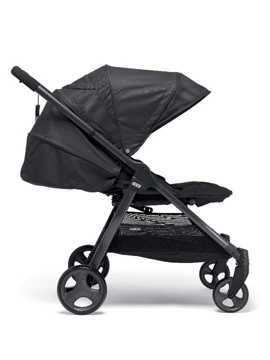 عربة أطفال أرماديللو مزدوجة قابلة للطيّ - لون أسود image number 3