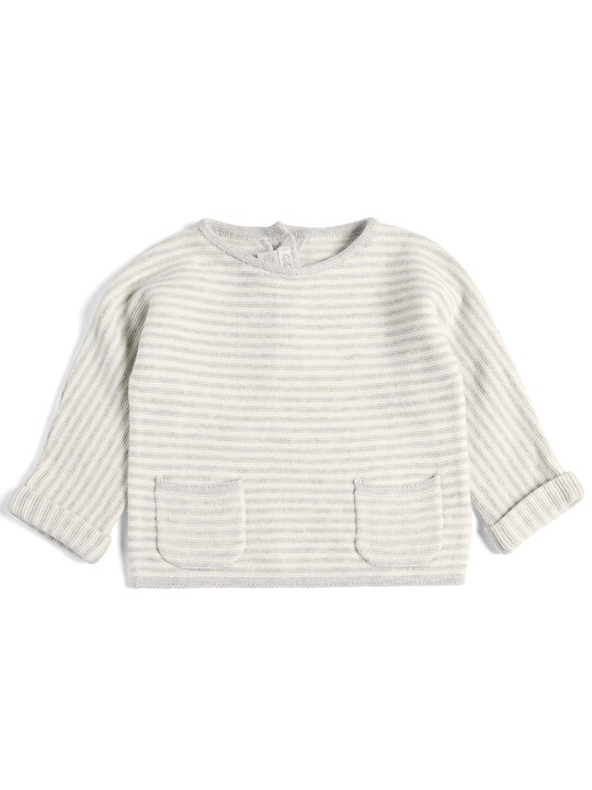 Striped Knitted Set - 2 Piece image number 3