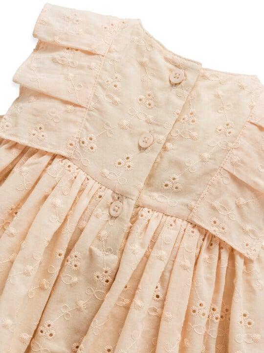 فستان بتطريز إنجليزي image number 3