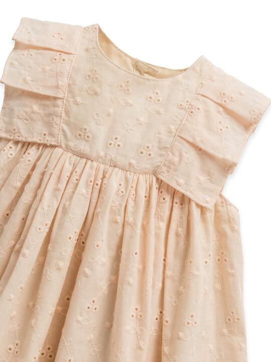 فستان بتطريز إنجليزي image number 4