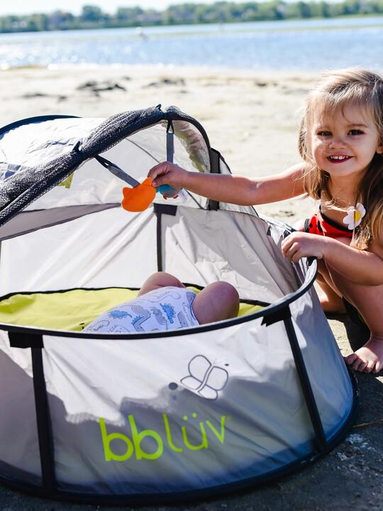 خيمة لعب وسرير متنقل 2 في 1 نيدو ميني من بيبي لوف image number 7